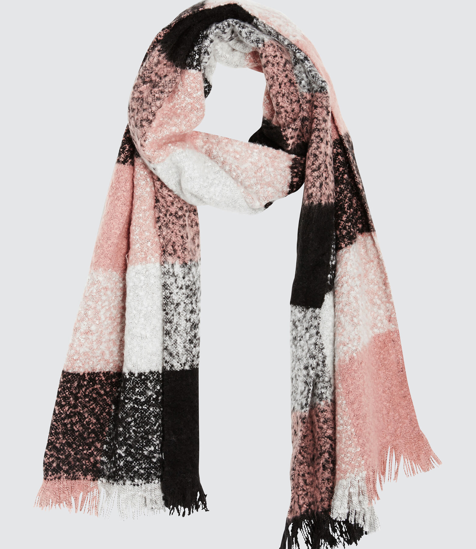 Foulard Chaud Carreaux