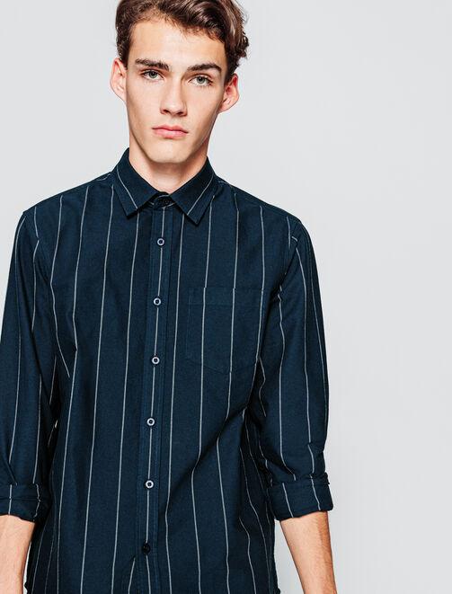 Chemise à rayures  homme