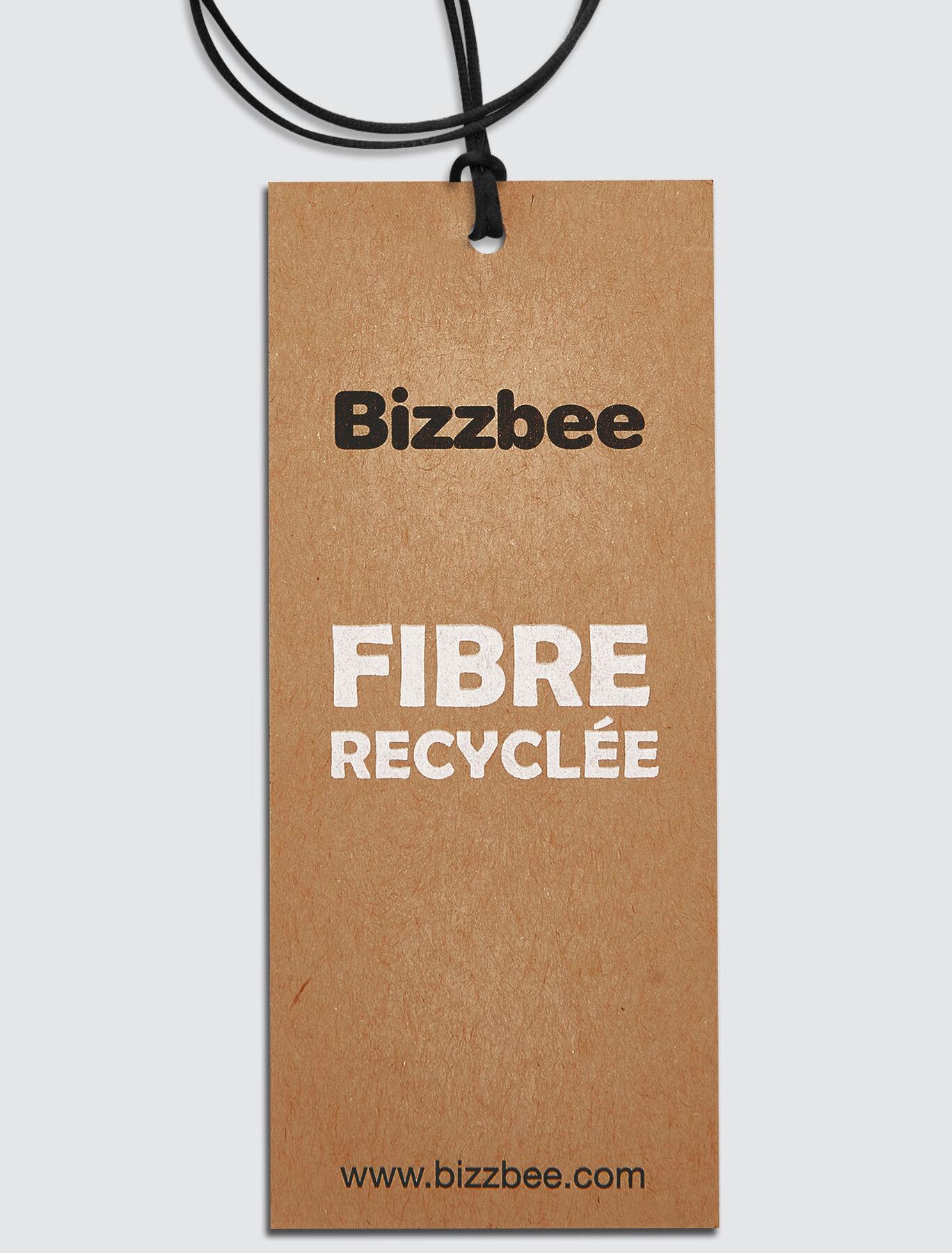 Sweat à capuche basique en fibres recyclées