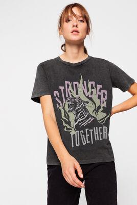 "T-shirt rock ""tiger"""