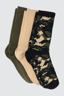 Lot*3 Chaussettes Army