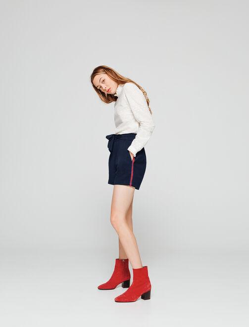 Short taille haute femme