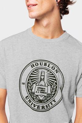 "T-shirt nep's humour ""houblon university"""