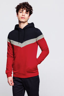 Sweat enfilé neo color-block