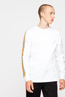 T-shirt bandes contrastantes manches