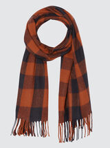 Foulard Chaud Grand Carreaux
