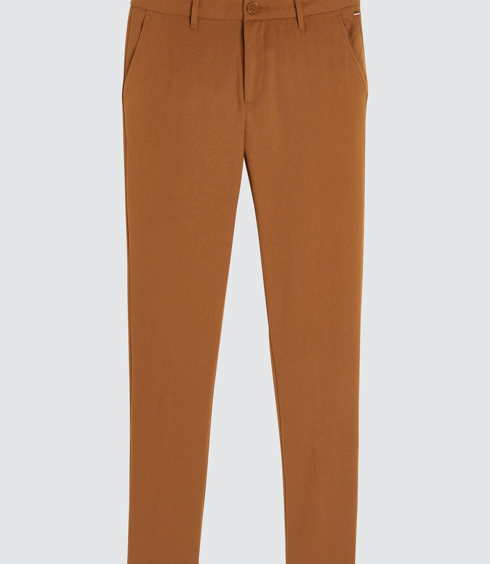 Pantalon de ville fluide fantaisie