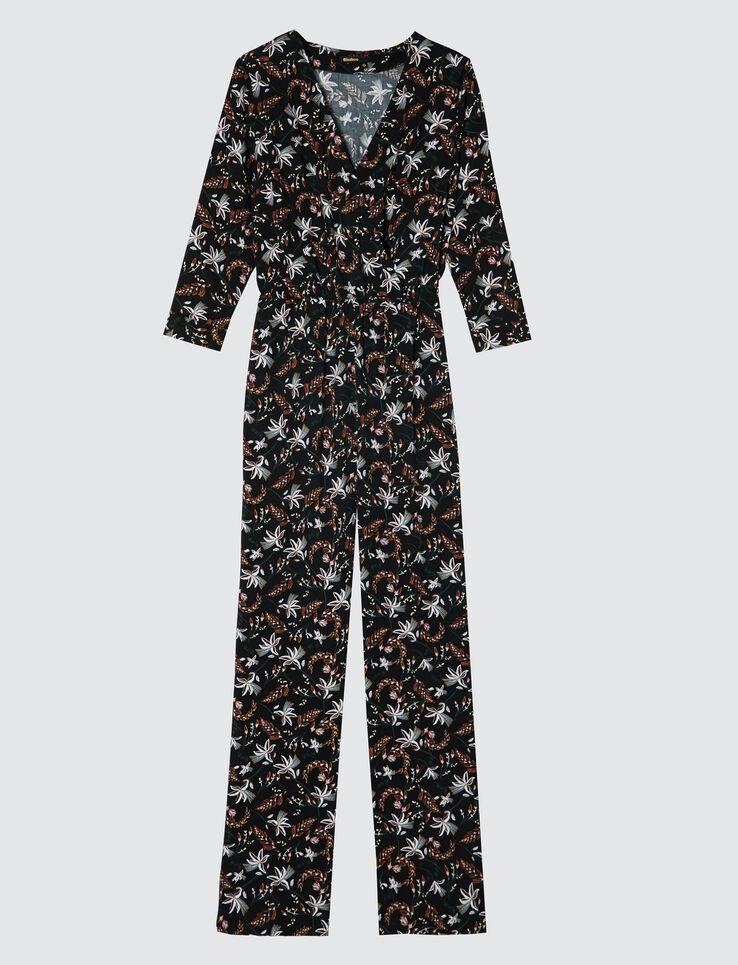 Combi-pantalon fleurie