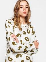 Pull fantaisie léopard