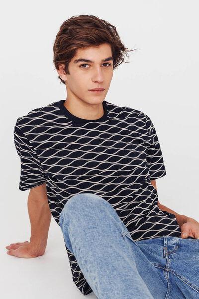 T-shirt allover coton bio