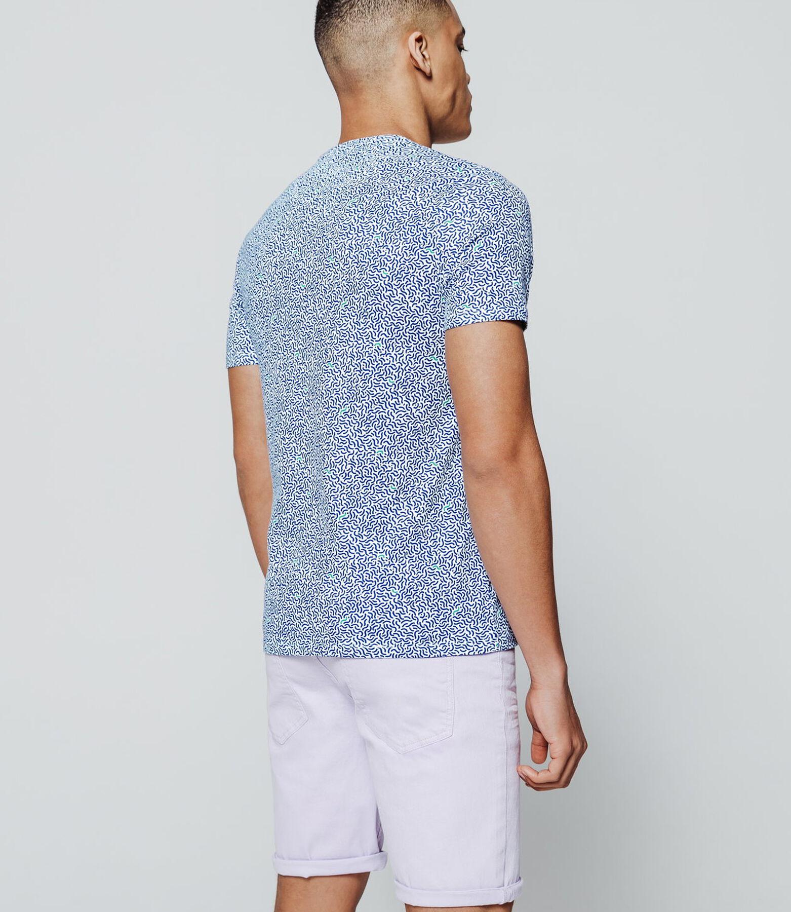 T-shirt all over imprimé minimaliste