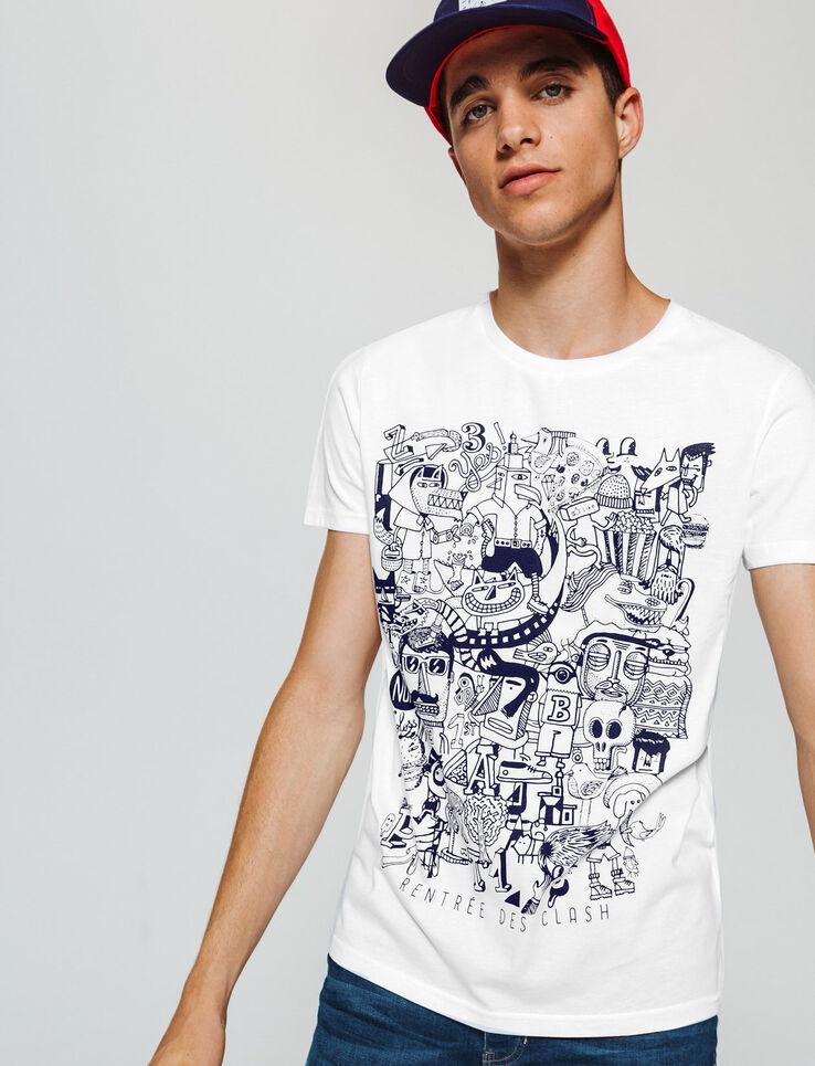 Tee-shirt imprimé Rentrée des Clash