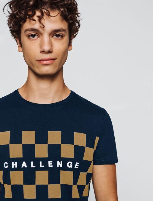 """T-shirt print placé """"Challenge"""" homme"""