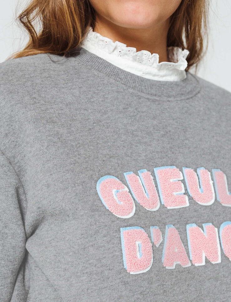 """Sweat à message """"Gueule d'ange"""""""