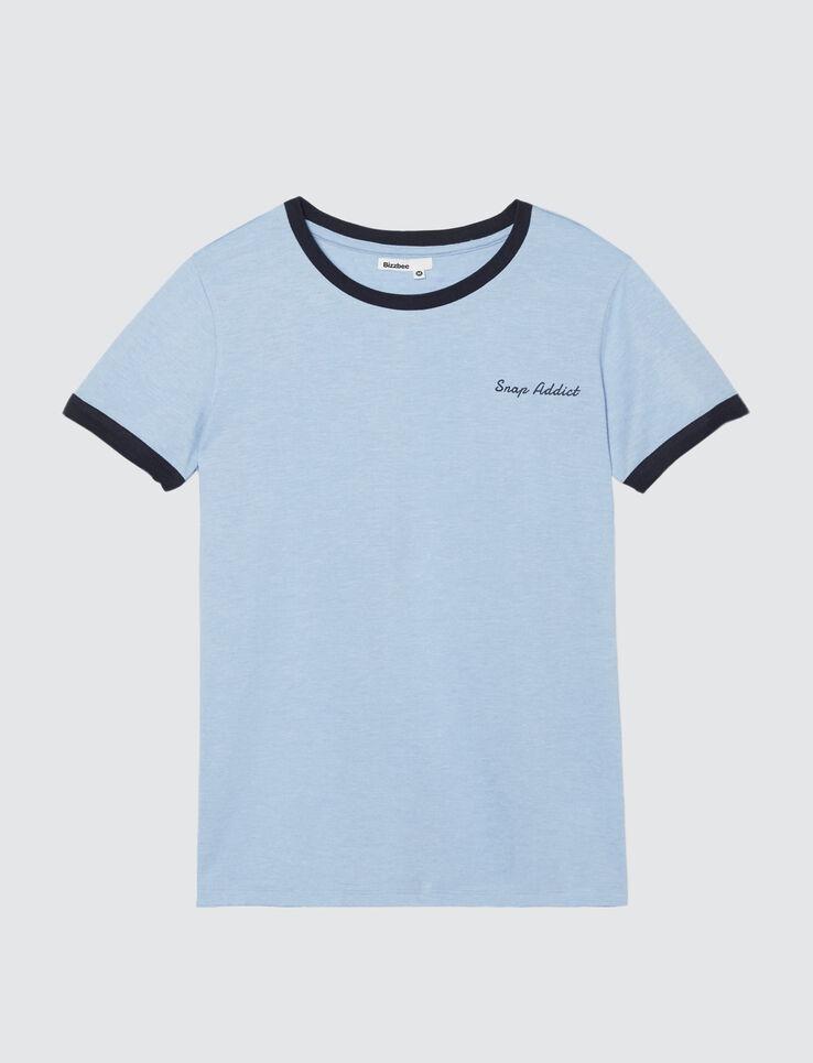 """T-shirt à message """" SNAP ADDICT"""""""