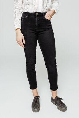 Jean denim skinny taille haute