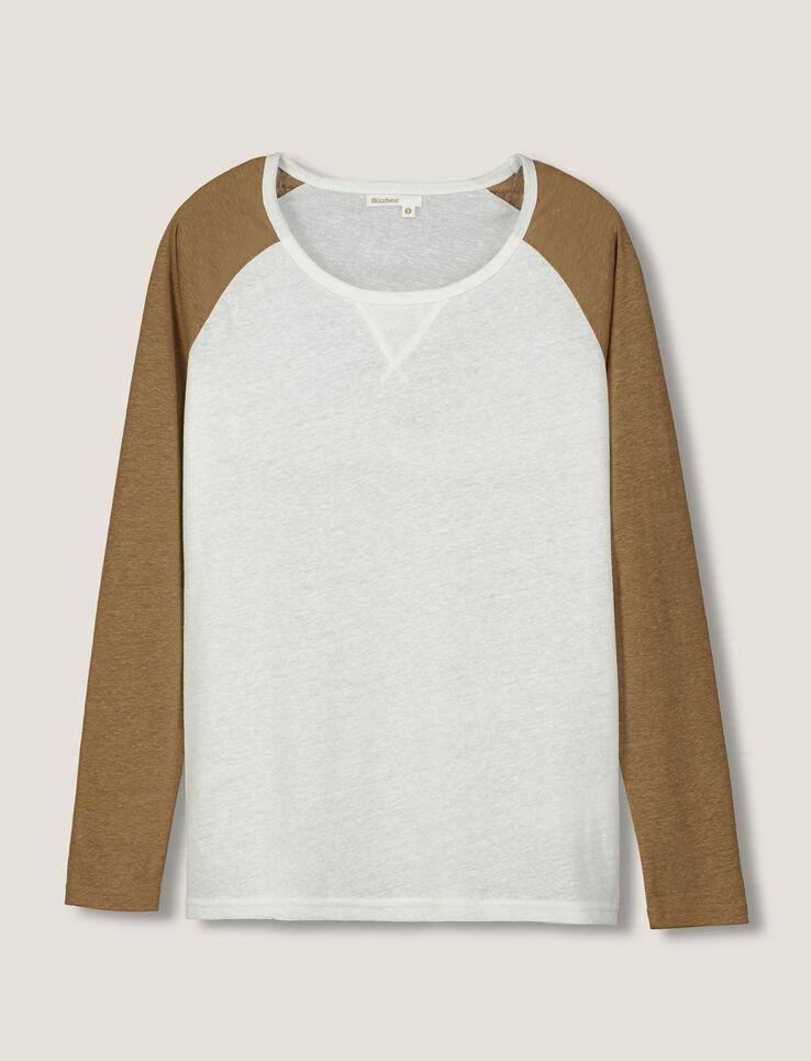 T-shirt manches Raglan Bicolores