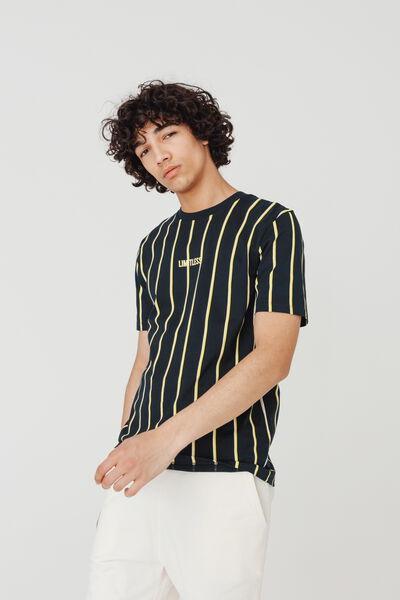 T-shirt rayures bicolores en coton BIO