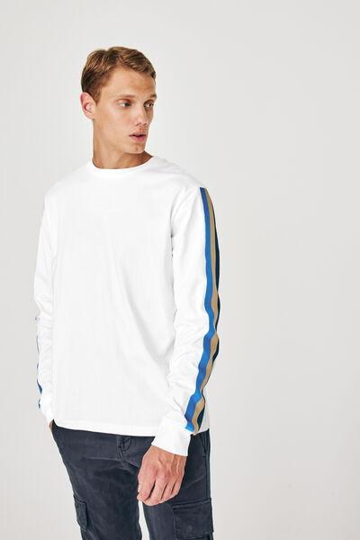 T-shirt ML à bandes