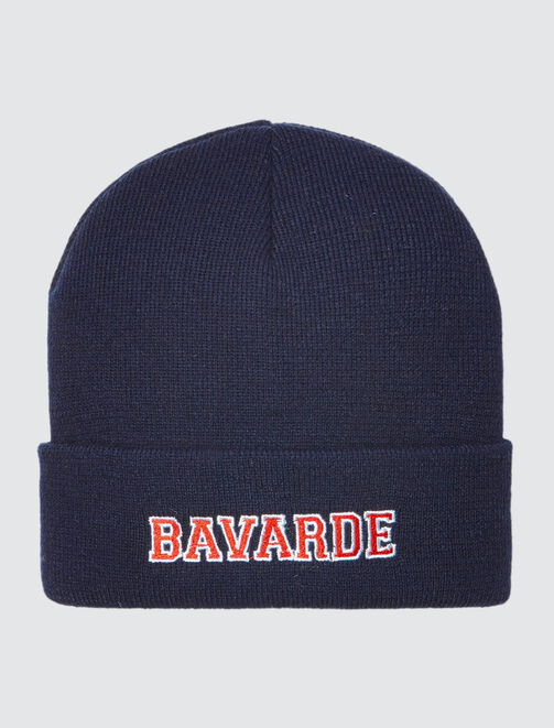 "Bonnet Message ""Bavarde"" femme"