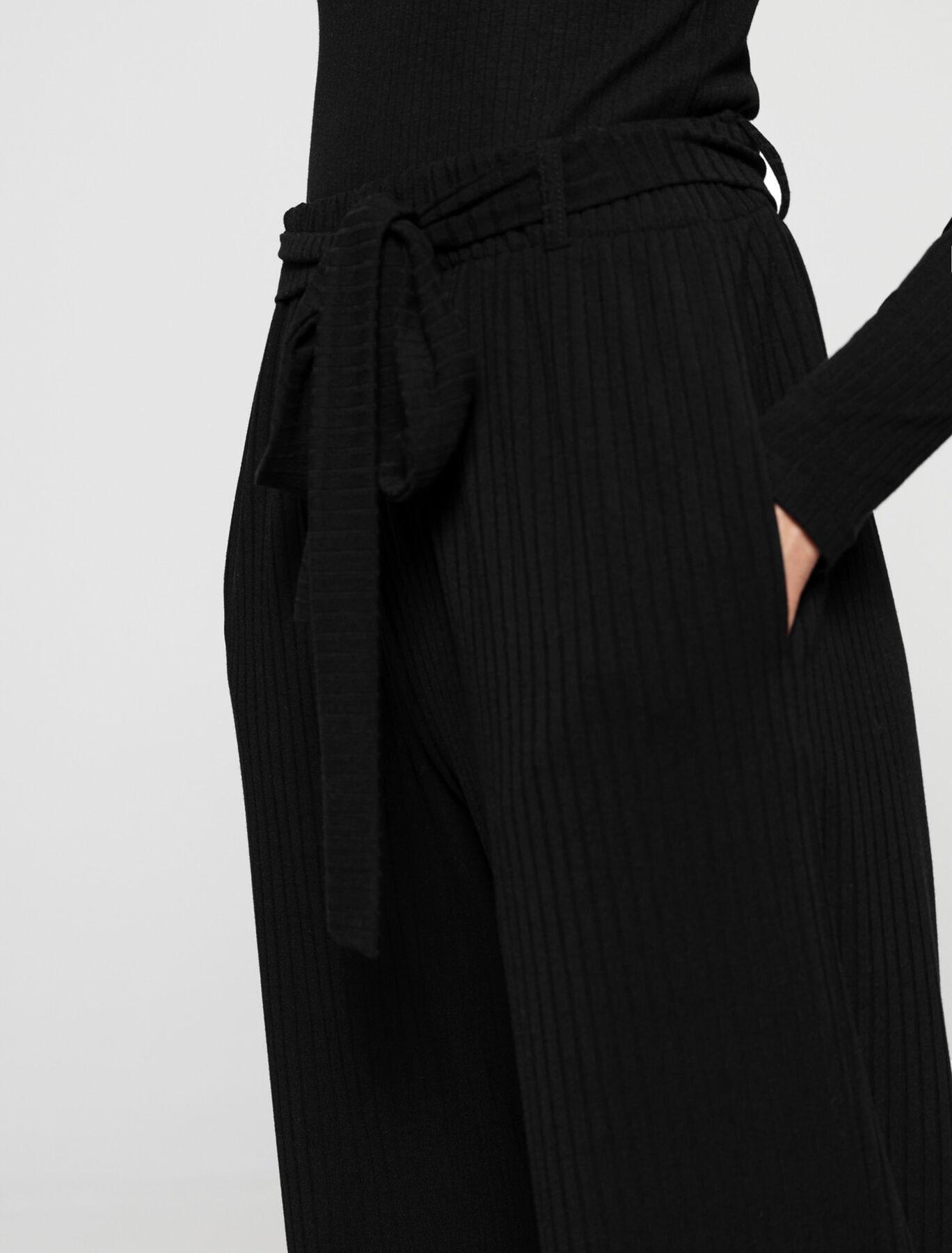 Pantalon Fluide Maille