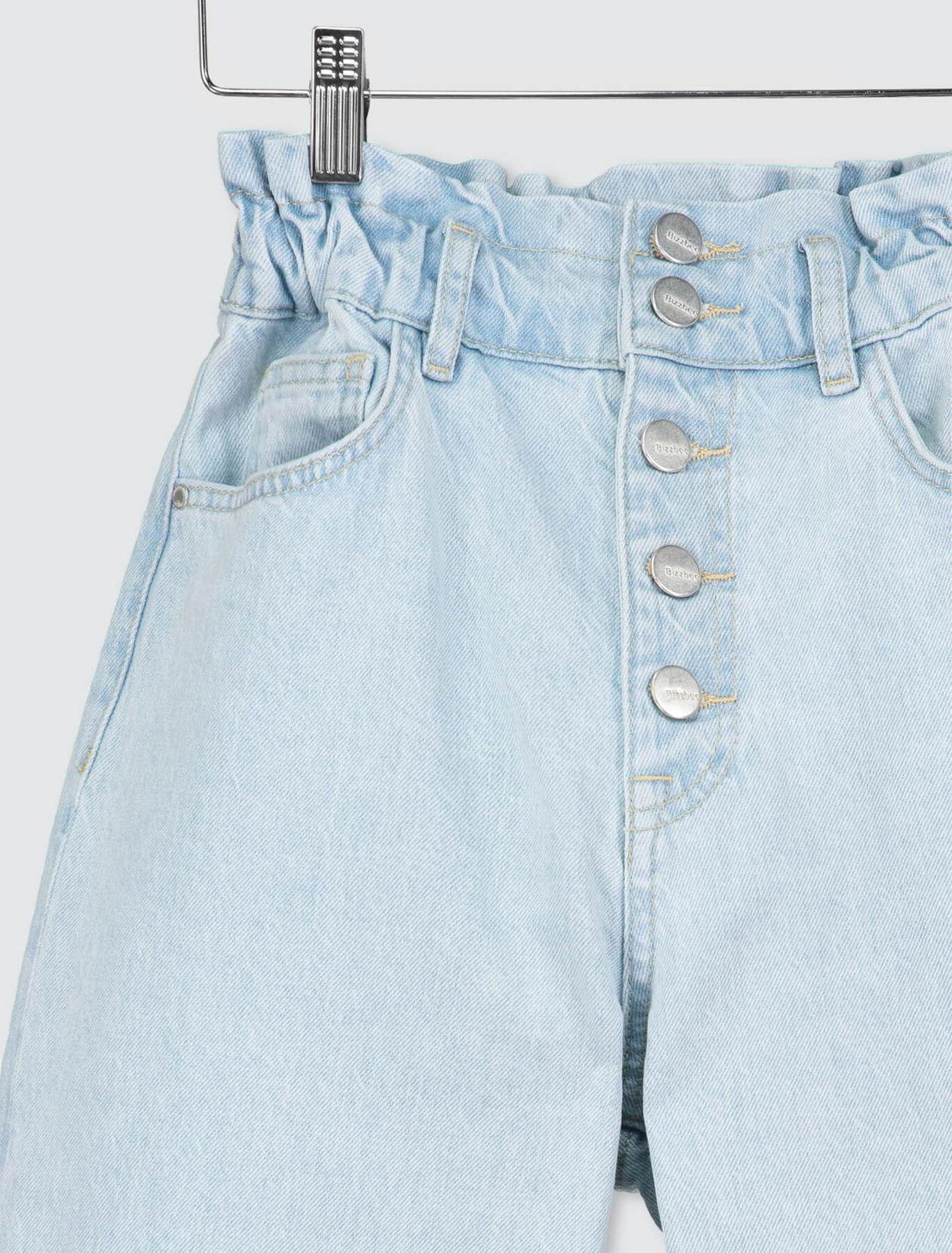 Jean Mom Taille Elastiquée Coton Recyclé