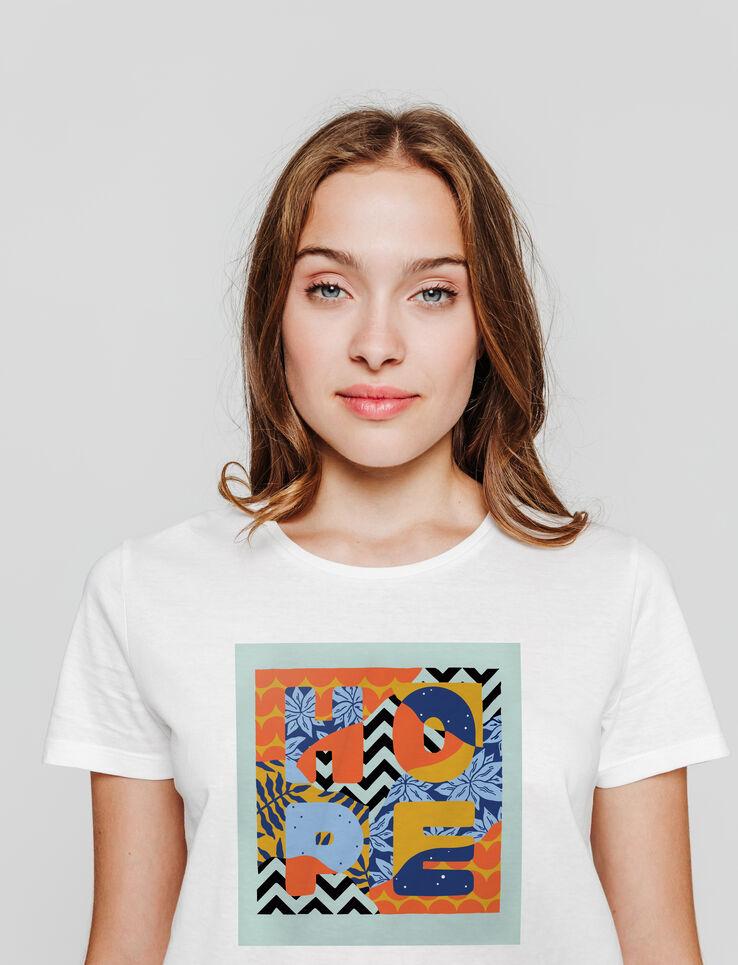 """T-shirt """"HOPE"""" SEB TOUSSAINT"""