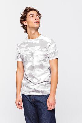 T-shirt à imprimé nuage
