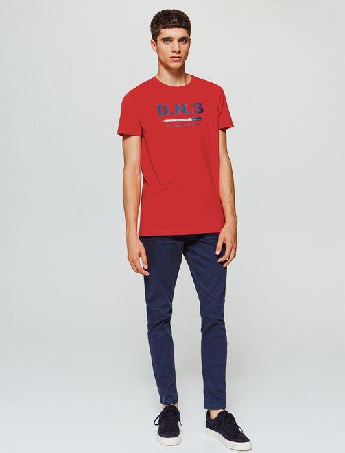 """T-shirt Humour message """"Devoir non souhaité"""" homme"""