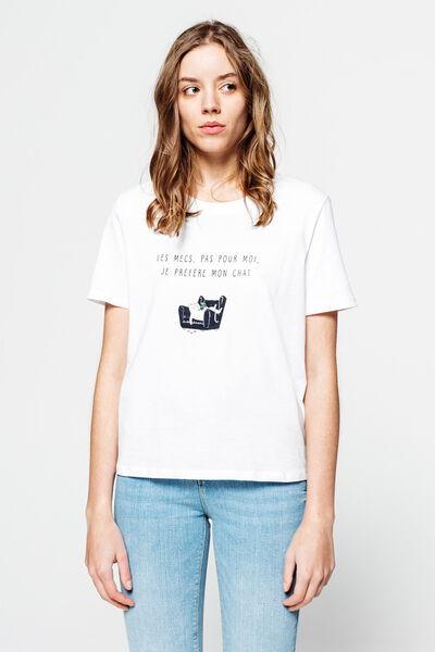 T-shirt humour Saint-Valentin en coton bio