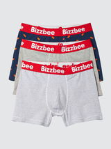 Lot de 3 Boxers Imprimé Hot Dog