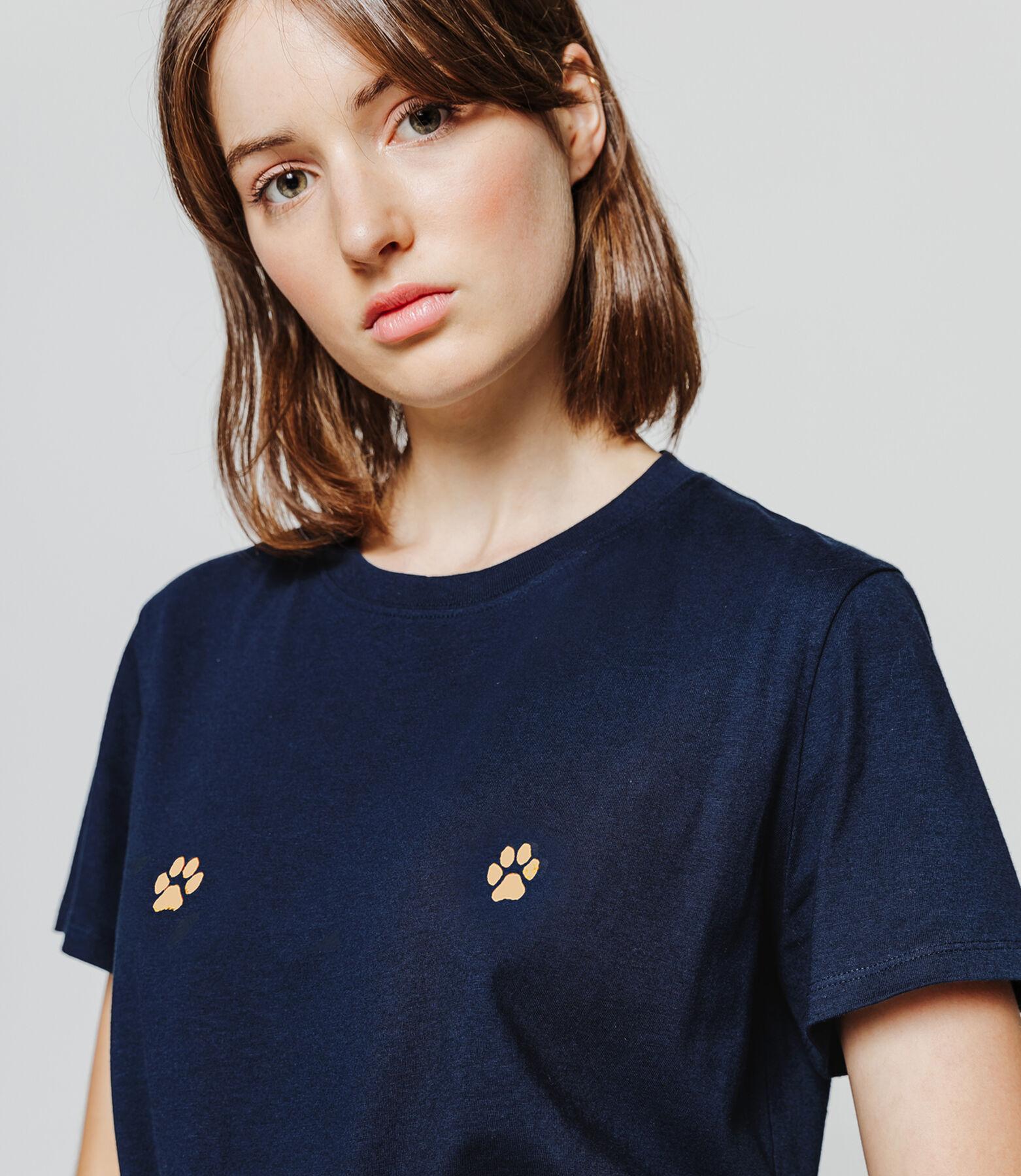 T-shirt fantaisie pattes de chat
