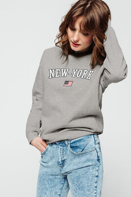 Sweat col rond New York