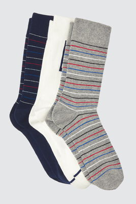 Lot*3 Chaussettes Rayures BZB