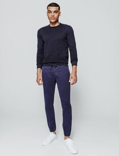 Pantalon chino type jogger  homme