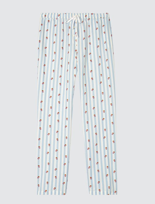 Pyjama imprimé Pop Corn femme