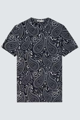 T-shirt imprimé paisley