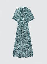Robe longue imprimé fleuri