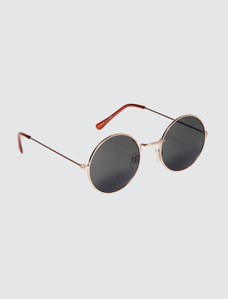 lunettes de soleil rondes vintage homme multicolore bizzbee. Black Bedroom Furniture Sets. Home Design Ideas