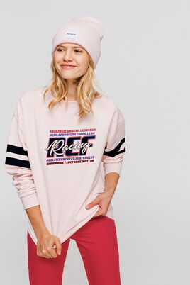 "Sweat oversize message ""Racing"""