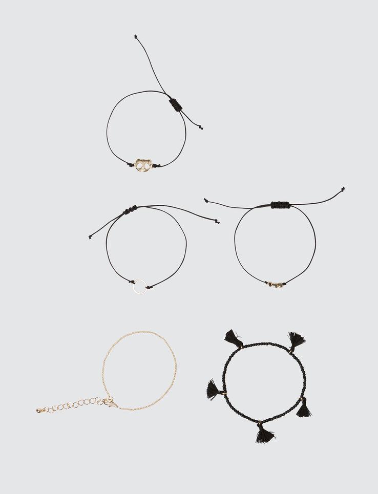 Set 5 Bracelets Panda