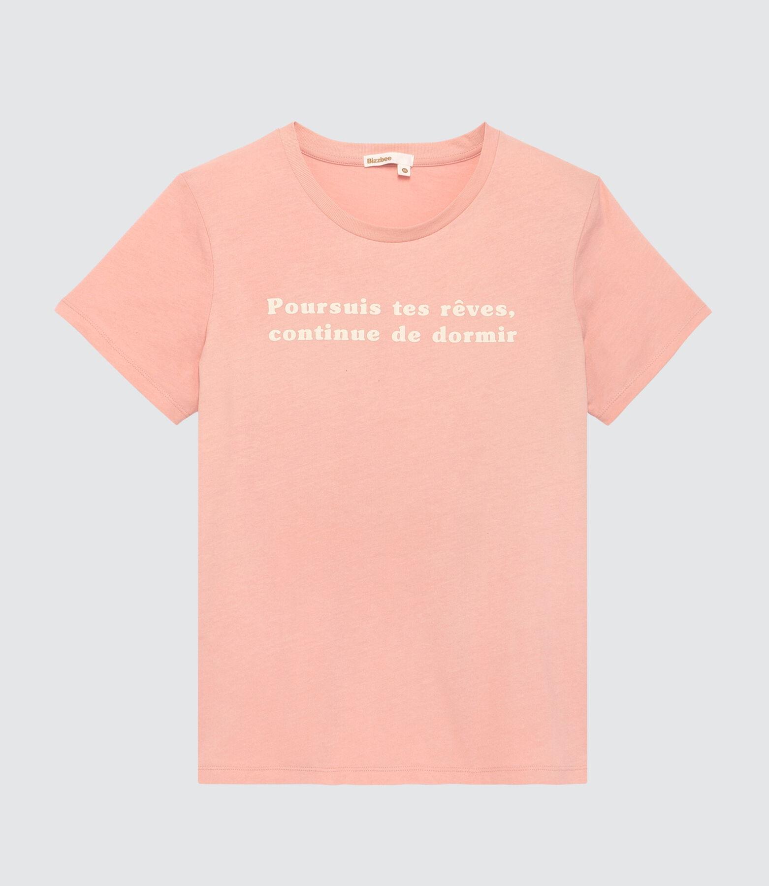 """T-shirt """"Poursuis tes rêves, continue de dormir"""""""