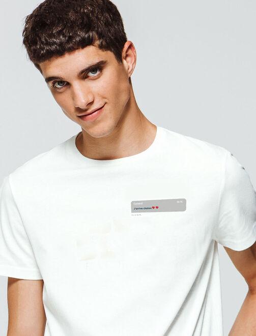 "T-Shirt ""J'arrive chaton"" homme"