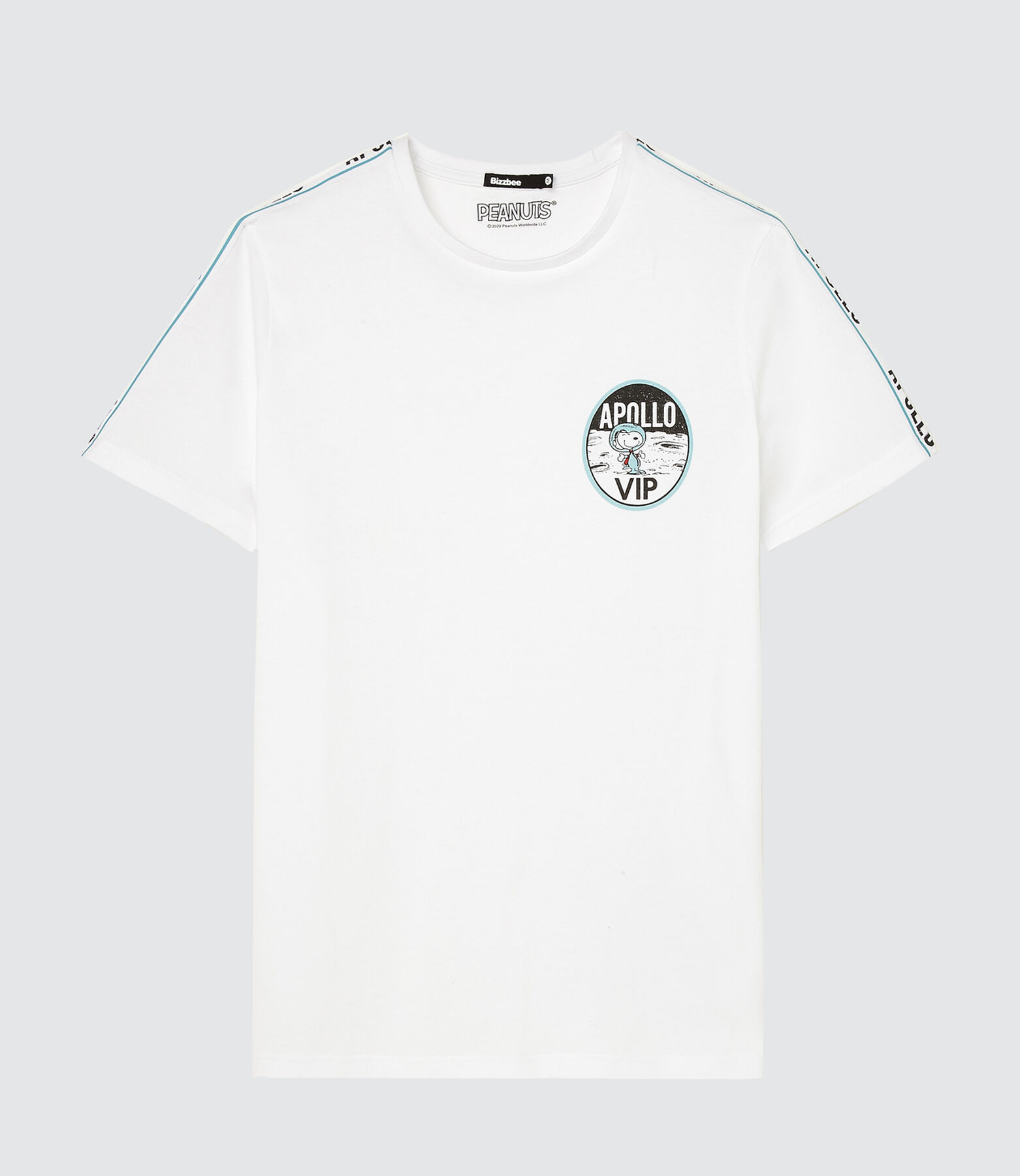 T-shirt licence Peanuts astronaute
