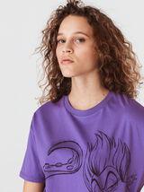 "T-shirt licence ""URSULA"" en coton bio"