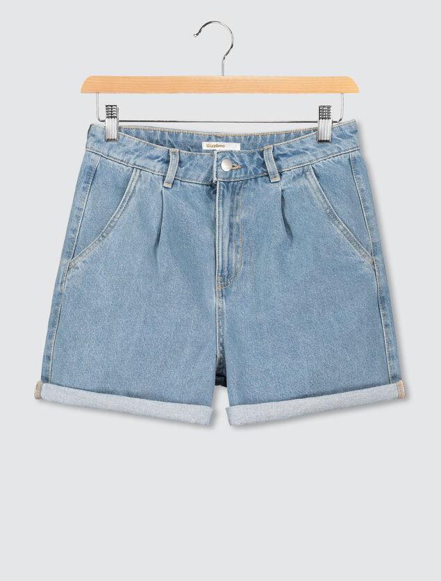 Short Mom fit en Jean