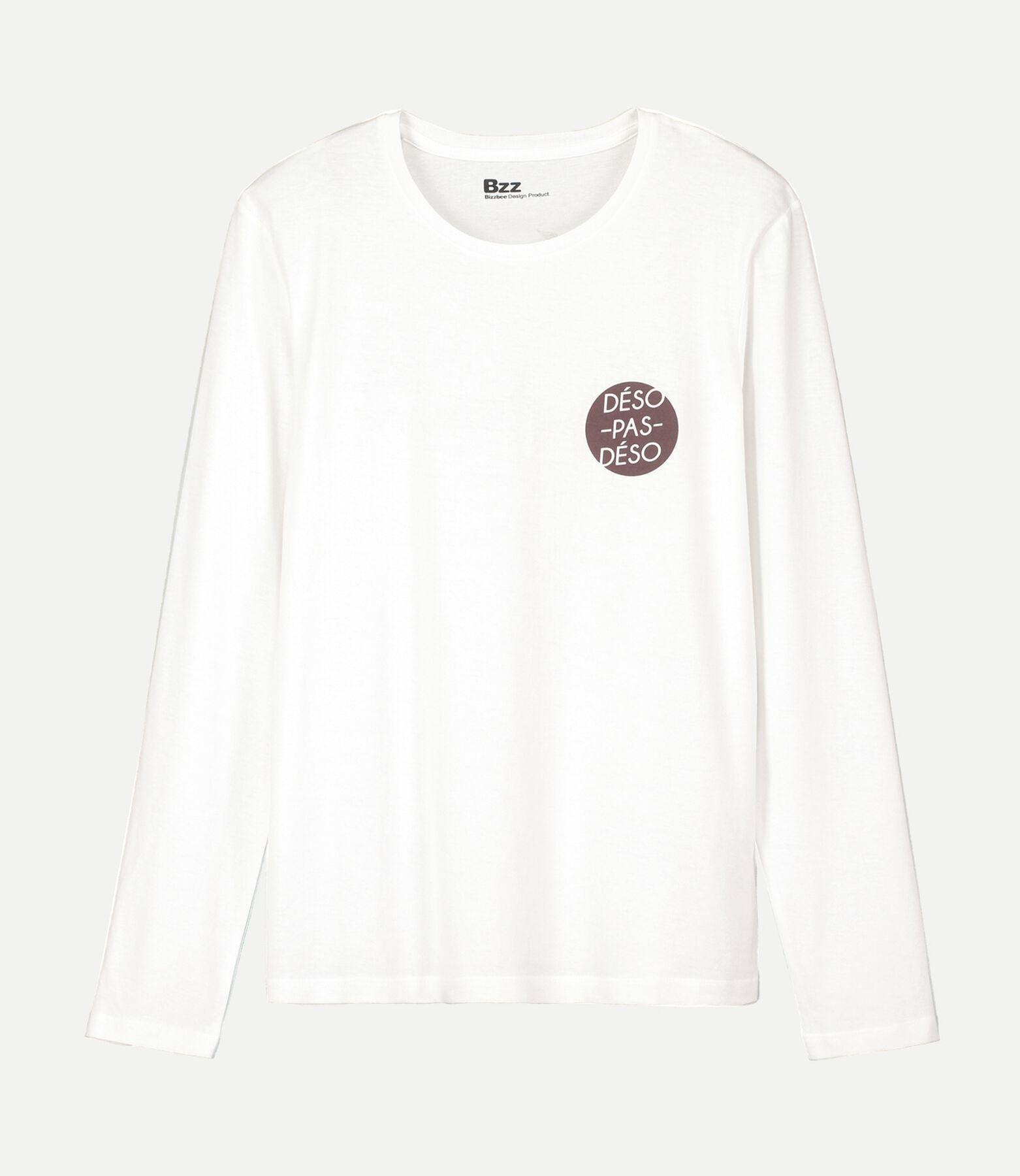 Tee Shirt Manches longues print devant et dos