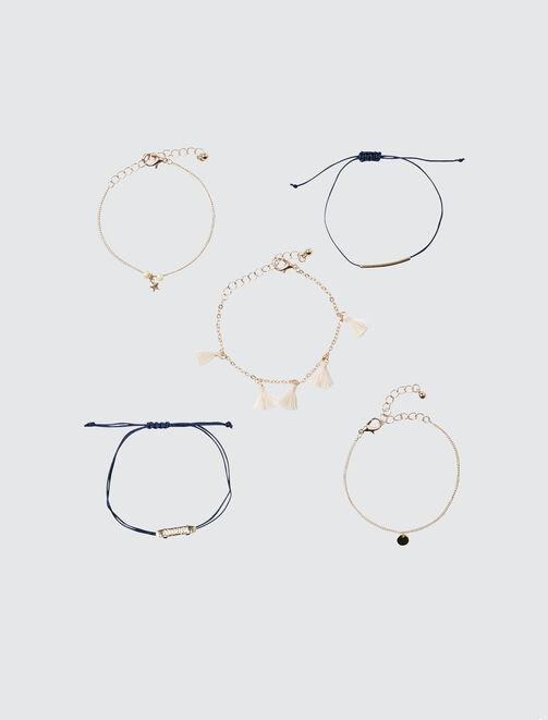 Set 5 Bracelets Boudeuse femme