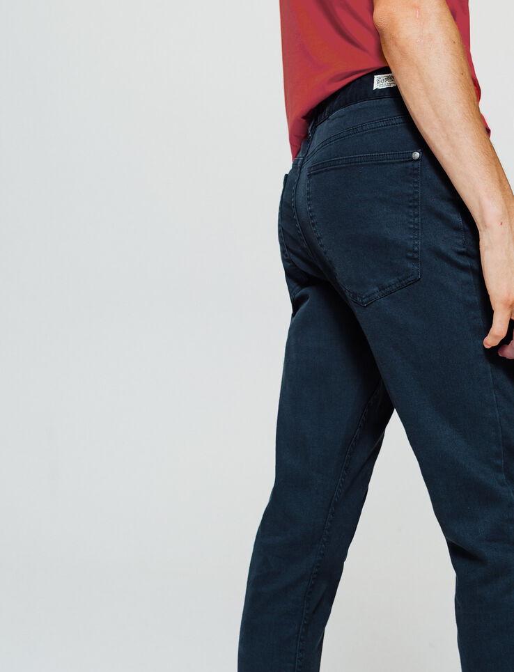 Pantalon 5 poches couleurs Skinny cropped