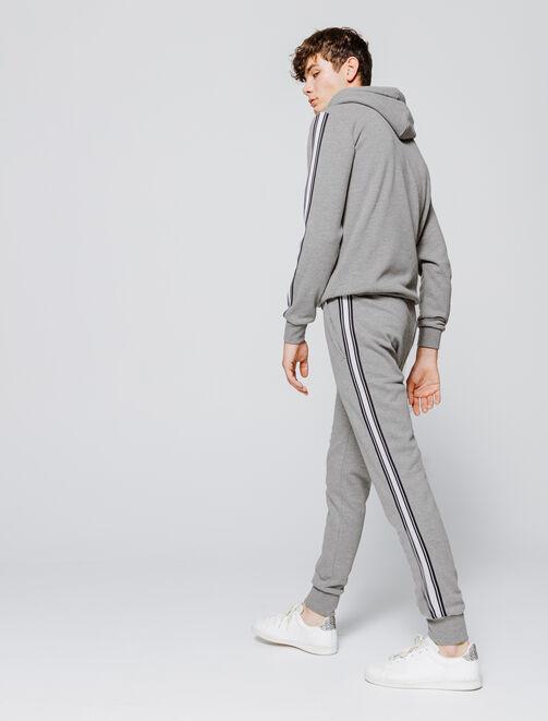 Pantalon de jogging à bandes homme